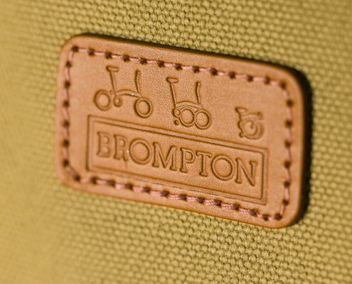 Brompton Leather Label