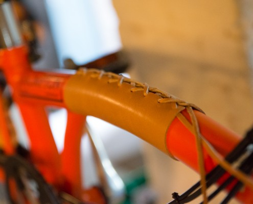 DIC Brompton Leather Frame Cover