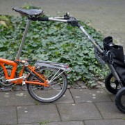 Brompton with Trailer