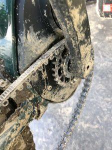Muddy Gates Carbon Belt